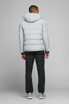 Springfield Padded jacket with hood gris