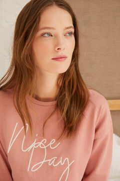 "Springfield ""Nice Day"" Pearls Sweatshirt pink"