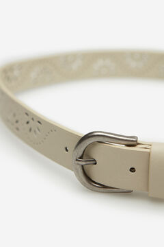 Springfield Cutwork belt brown