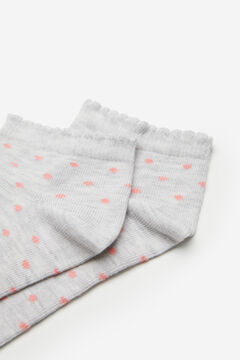 Springfield Polka-dot socks grey
