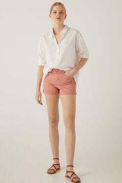 Springfield Short jean couleur rose