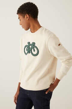 Springfield Bike sweatshirt natural
