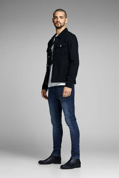 Springfield Liam skinny fit jeans bläulich