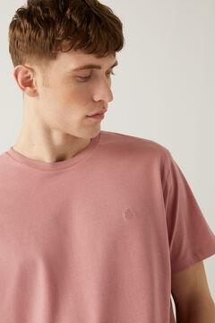 Springfield Basic logo t-shirt pink