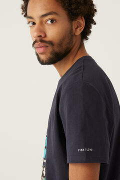 Springfield T-shirt Pink Floyd azul