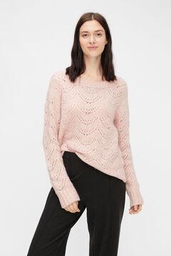 Springfield Jersey-knit jumper  pink