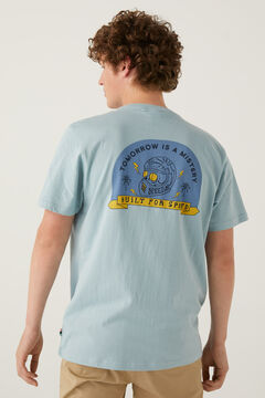 Springfield Surf t-shirt blue