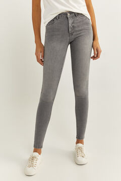 Springfield Body Shape Jeans grey