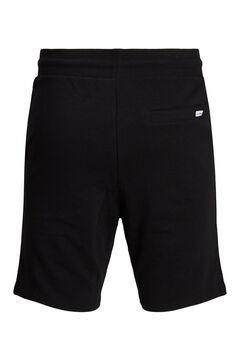 Springfield Pantalón jogger corto negro