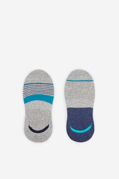 Springfield Striped socks grey