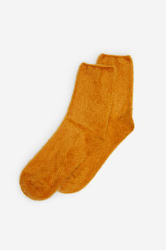 Springfield Fur Socks yellow