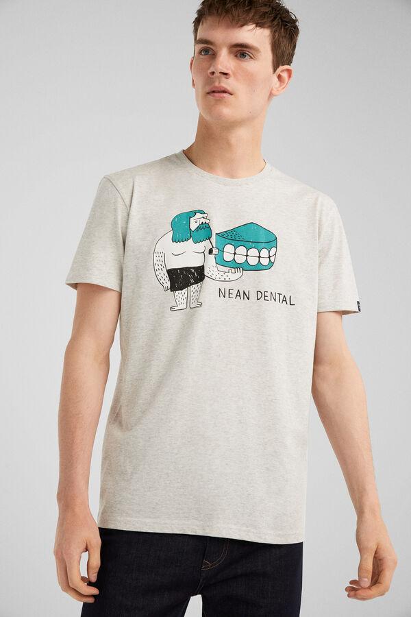 d0d43289c8af0 Springfield Camiseta humor se escribe con lápiz gris