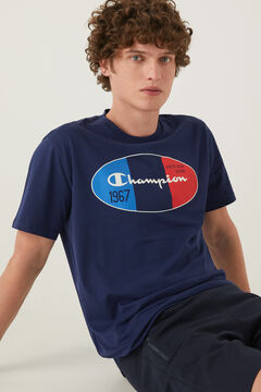 Springfield Camiseta logo central azul