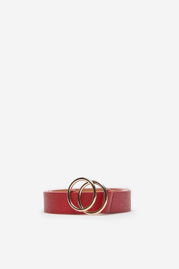 Springfield Cinturón hebilla doble red 9187b6a8423a