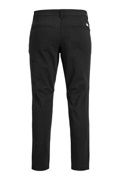 Springfield Pantalón chino Marco slim fit negro