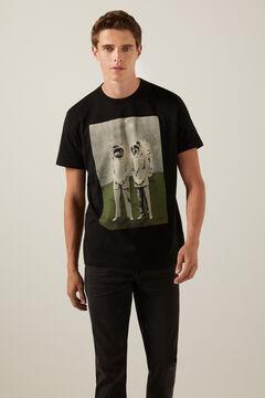 Springfield Astronaut T-shirt black