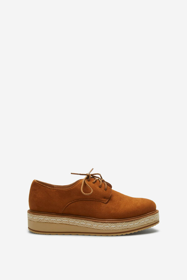 05195cd983d Springfield Zapato bloucher combinado marrón