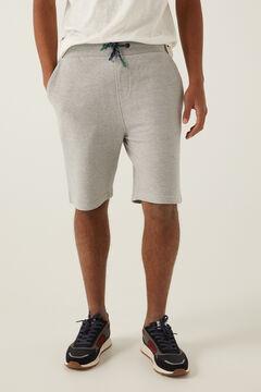 Springfield Piqué Bermuda shorts gray