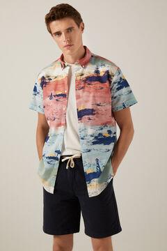 Springfield Camisa estampada natural