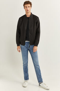 Springfield WATER-REPELLENT BOMBER JACKET black