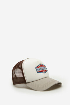 Springfield Patch trucker hat gray