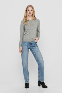 Springfield Long-sleeved jumper gris