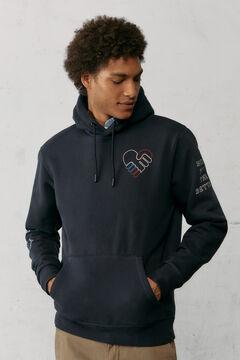 Springfield Sweat-shirt hoodie love navy