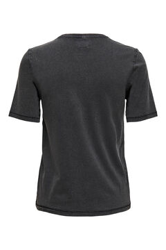 Springfield 100% organic cotton t-shirt black