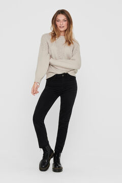 Springfield Textured blend jumper gray