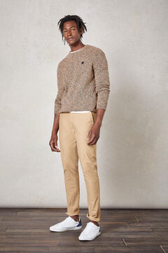 Springfield GARMENT-DYED CHINOS camel