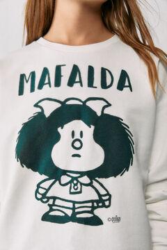 Springfield Mafalda sweatshirt medium beige