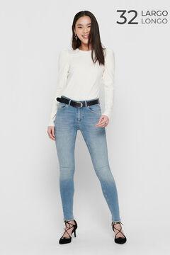 Springfield Ankle length cigarette jeans bluish