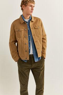 Springfield Comfort denim jacket beige