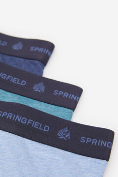 Springfield 3ER-PACK BOXERSHORTS KLASSISCH rot