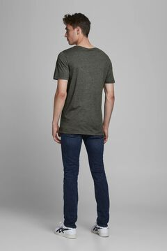 Springfield Sustainable t-shirt with central logo green
