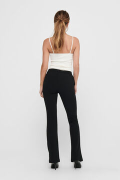 Springfield Bell-bottom trousers  noir