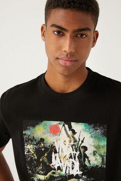 Springfield T-shirt Coldplay preto
