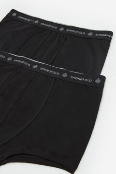 Springfield 2-pack essentials boxers black