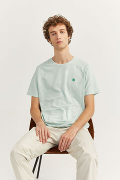 Springfield MICRO STRIPED T-SHIRT green