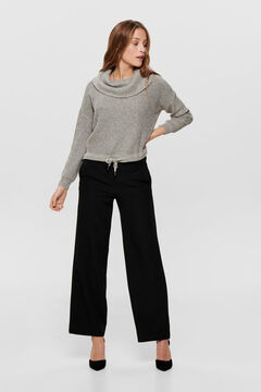 Springfield Polo neck jumper gris