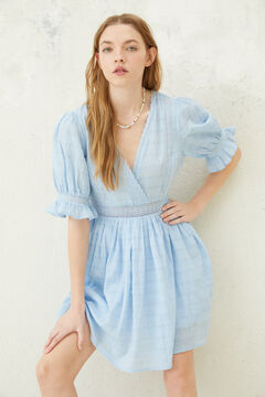 Springfield Blue lace dress bluish