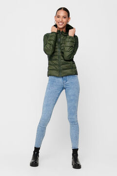Springfield Padded jacket with hood green