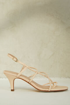 Springfield Leather straps sandal  stone