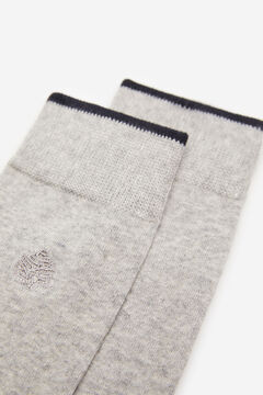 Springfield Embroidered tree socks grey