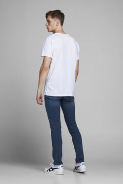 Springfield Glenn slim fit tapered jeans bleuté