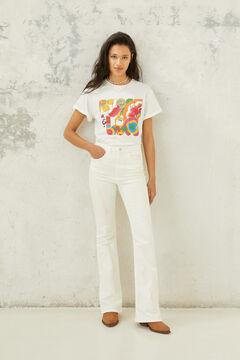 "Springfield Camiseta ""Blondie"" white"