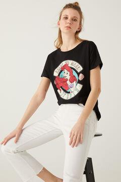 Springfield The Little Mermaid T-shirt black
