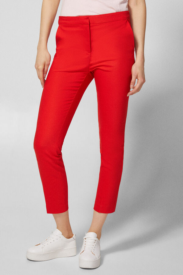 Springfield Pantalón chino naranja 6e82fd4e1fd8