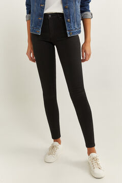 Springfield Jeans Jegging Lavagem Sustentável preto