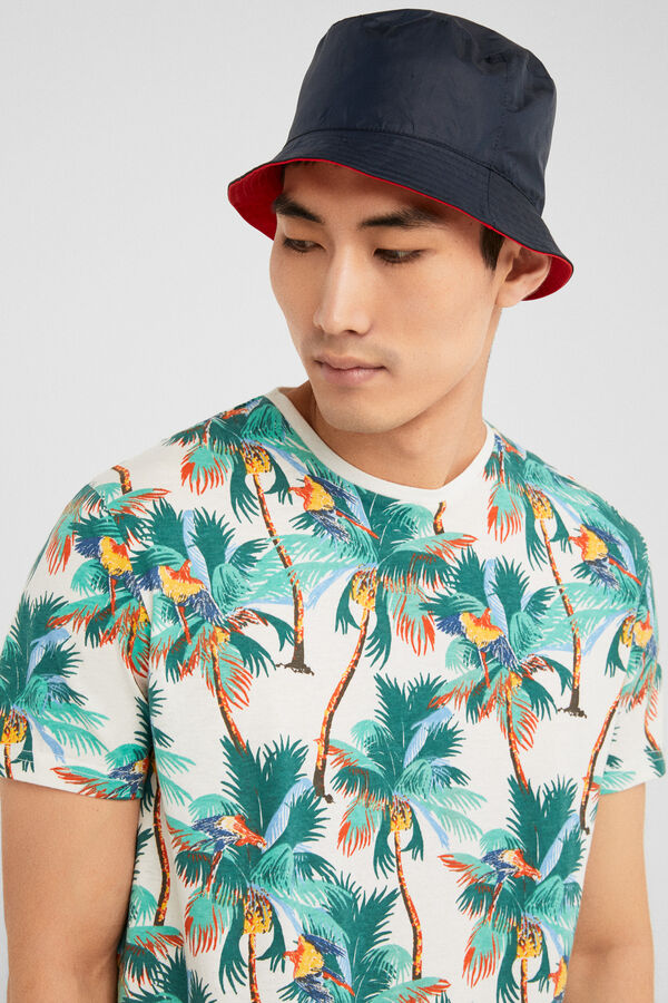 1e685bed24 Springfield Camiseta manga corta summertime crudo